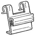Skylthållare trådkorg